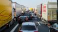 Утром в Петербурге зафиксированы семибалльные пробки