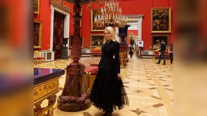 Рудковская рассказала о своем походе в Эрмитаж