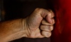 В Сестрорецке пьяный мужчина сильно избил местного жителя