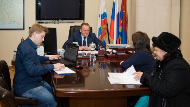 Глава администрации Выборга и Выборгского района принял граждан в День Конституции