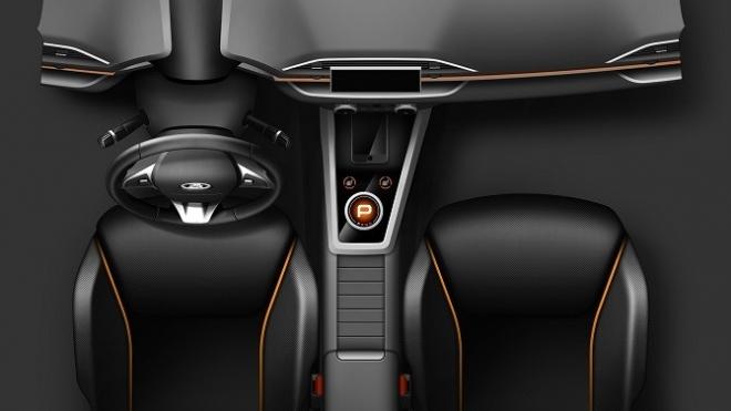 Россиян смутил дизайн салона концепткара «АвтоВАЗ» Lada XCode