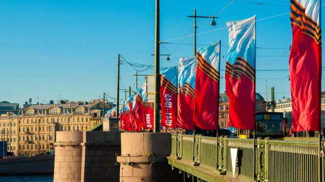 Репетициипарада ко Дню победы ограничат движение вцентре Петербурга
