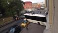 На Расстанной улице туристический автобус протаранил ...