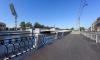 На Ждановской набережной обновили стенку и провели дорожные работы