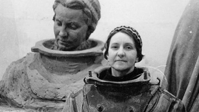 В Петербурге появитсямемориальнаядоска в честь женщины-водолаза