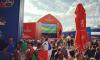 За первую неделю чемпионата фан-зону посетили более 400 тысяч человек