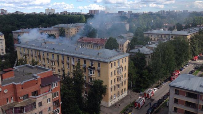 В пожаре на улице Капитана Воронина полностью сгорела жилая квартира