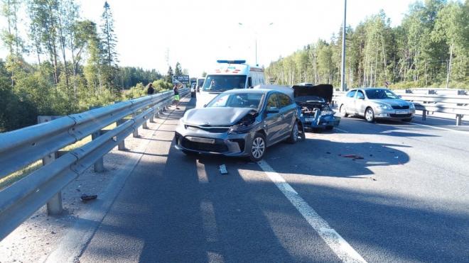 """Три человека пострадали в ДТП на трассе """"Сортавала"""""""
