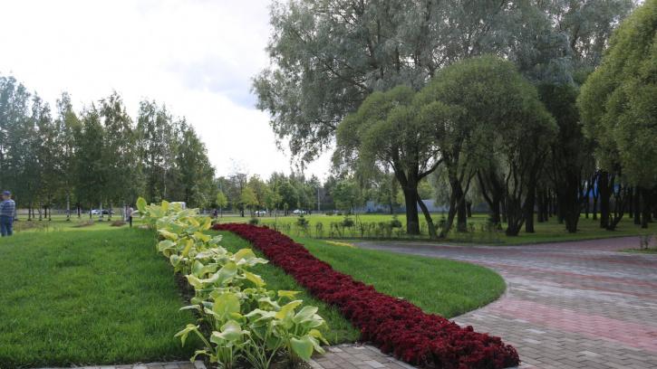 Жители Петербурга радуются открытию Ладожского парка