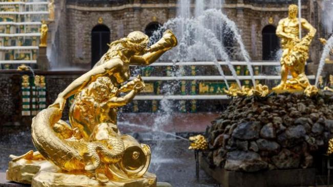 В Петергофе пройдет весенний праздник фонтанов