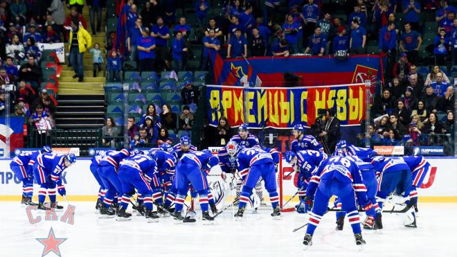 СКА и ЦСКА стали полуфиналистами Западной конференции КХЛ в 2019 году