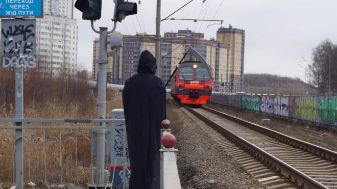 """Петербуржцы привлекают внимание к """"переходу смерти"""" на Туристской"""