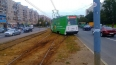 Купчинский дрифт: учебный трамвай сошел с рельсов ...