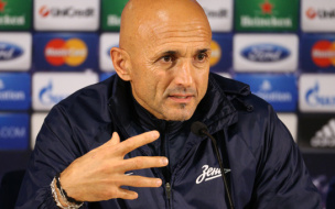 Спаллетти думает о победе в матче с Порту