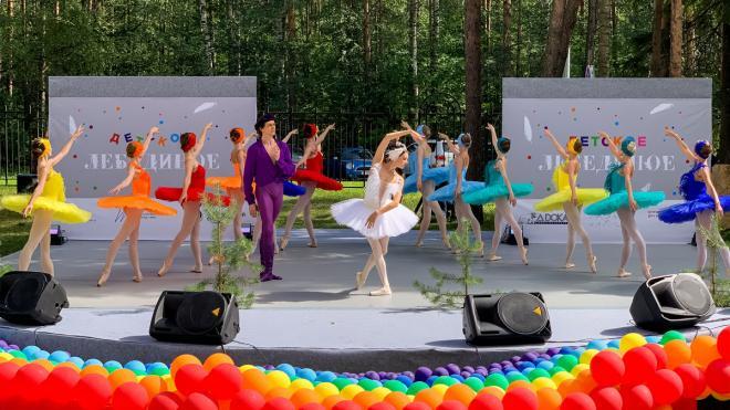 Маленьким пациентам Петербургского онкоцентра показали балет