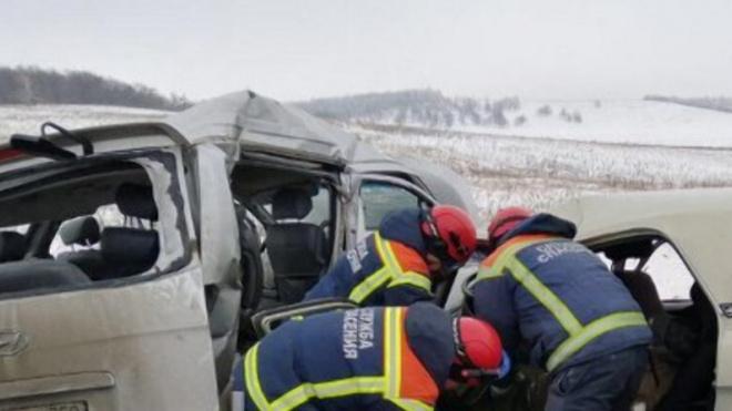 В Саратовской области в ДТП погибли 4 человека