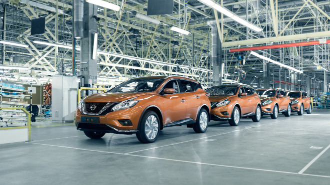 Петербургский завод Nissan объявил о приостановке производства
