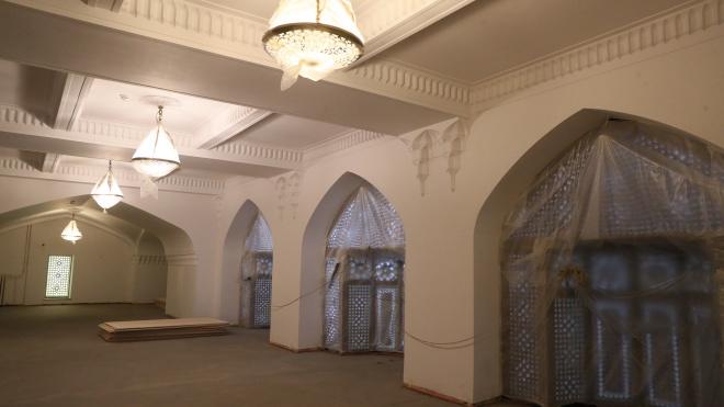В Соборной мечети Петербурга увеличат объем реставрационных работ