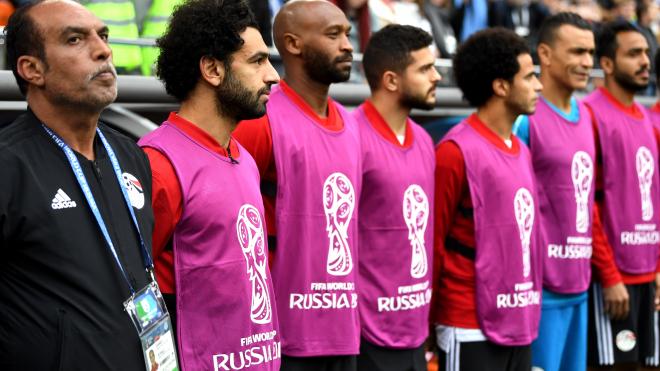В Петербург прилетела сборная Египта для игры с командой России