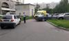 В одном из дворов Невского района столкнулись две иномарки, среди пострадавших младенец