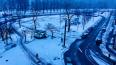 Во вторник Петербург накрыло мокрым снегом