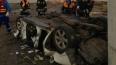 В Приморском райне Nissan рухнул с недостроенного ...