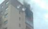 В Башкирии загорелся балкон в жилой многоэтажке