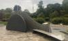 Открытие пешеходной набережной Карповки не состоялось из-за дождя