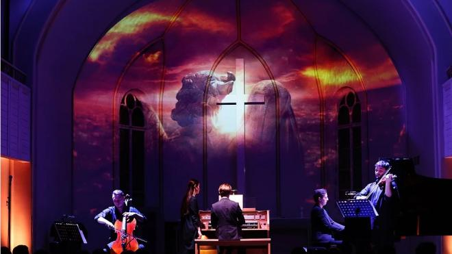 На сцене собора Яани Кирик развернется сражение между ангелами и демонами