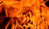 Ночью в центре Петербурга сгорел автомобиль