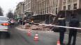 На Большом Сампсониевском при сносе здания обвалилась ...