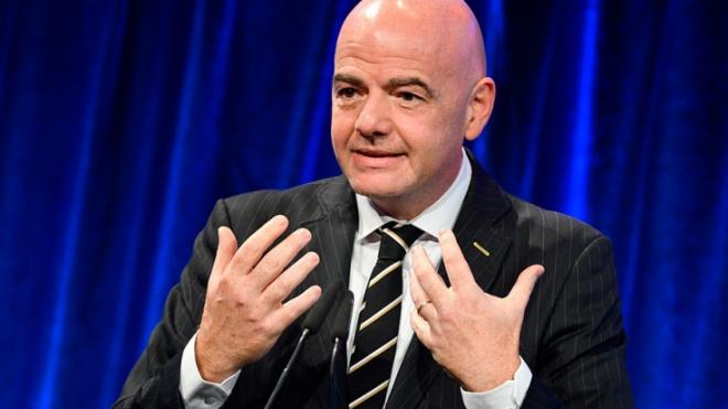Президент FIFA поблагодарил Георгия Полтавченко за Чемпионат мира – 2018