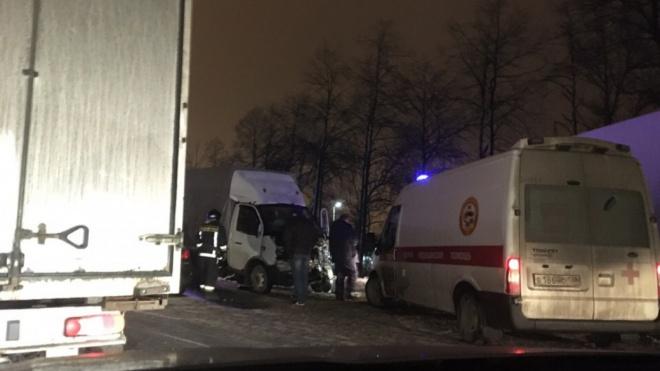 На Московском шоссе в ДТП попали пять машин