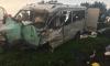 Под Петербургом фура врезалась в микроавтобус, четверо людей погибло