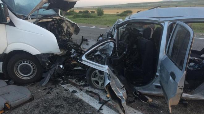 В ДТП на Ставрополье погибли два человека, одиннадцать получили травмы