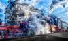 На Финляндском вокзале реконструируют приезд Поезда Победы