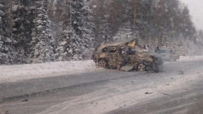 """Страшная авария произошла по трассе """"Скандинавия"""""""