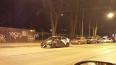 Каршеринг потерял бампер на улице Льва Толстого