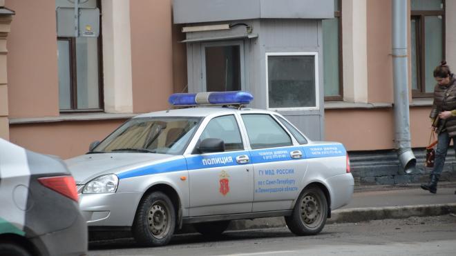 Полицейский автомобиль въехал в автобус и задел ребенка в Кронштадте