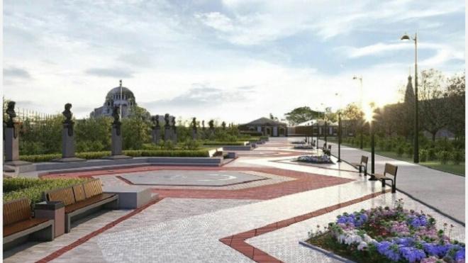 Горожане выберут героев для центральной аллеи в парке в Кронштадте
