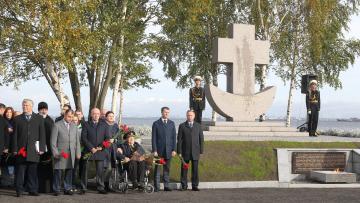 Владимир Рублевский присутствовал на открытии мемориальн ...
