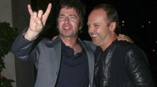 Ларс Ульрих признался в любви к музыке группы Oasis