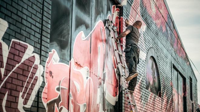 В Петербурге появятся специальные конструкции для уличных художников