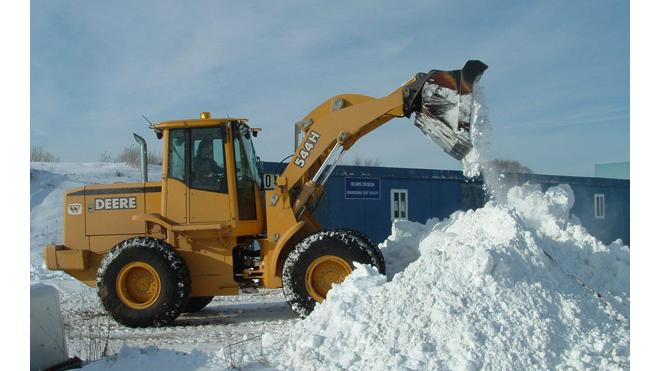 За февраль Санкт-Петербург отчистили от 1,2 миллионов кубометров снега