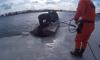 МЧС спасли четырех дрейфующих на льдинах петербуржцев