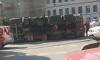"""Водитель """"КамАЗа"""" с признаками САО попал в аварию на площади Репина"""