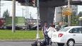 Под мостом на проспекте Культуры сбили мотоциклиста