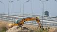 Началось строительство развязки КАД в Мурино