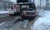 Массовая авария с автовозом, грузовиком и легковушкой произошла на Бухарестской