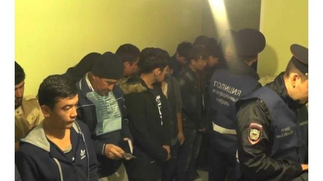Полиция Васильевского острова обнаружила целый подвал с незаконными мигрантами